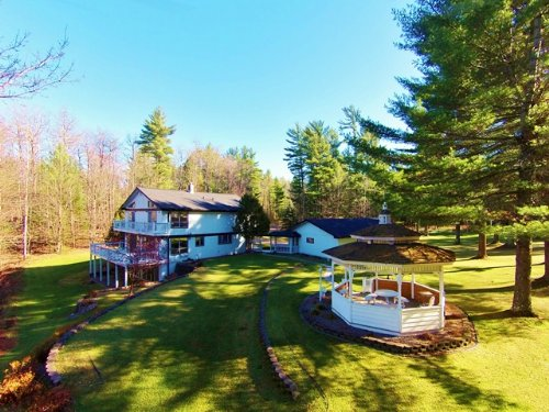 Tomahawk River Farmette : Minocqua : Oneida County : Wisconsin