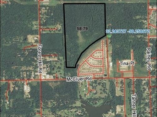 60 Acres In Hinds Co : Jackson : Hinds County : Mississippi