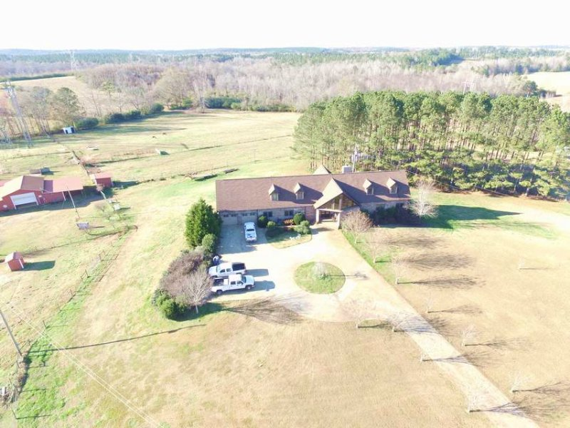 Faloaw Ranch - Horse Property : Hogansville : Troup County : Georgia