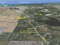 3,000Ft Licensed Runway On 77Ac : Fort Pierce : Saint Lucie County : Florida
