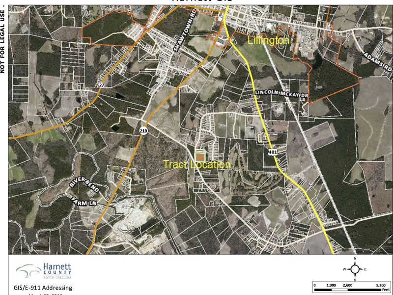 Reduced $10,000 Near R.T.P. : Lillington : Harnett County : North Carolina