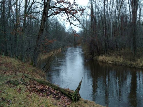 20 Acre Parcel With River Frontage : Walhalla : Mason County : Michigan