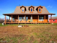 Log Sided Home On 123 Acres