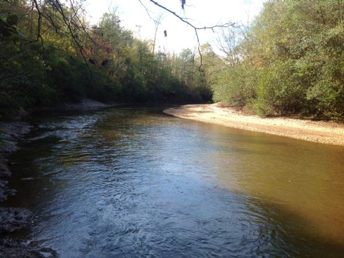 60 Acres On Mulberry Creek : Stanton : Chilton County : Alabama