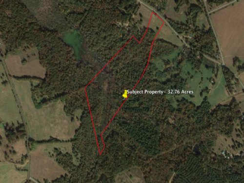 Rural Homesite With Ample Wildlife : Colbert : Madison County : Georgia