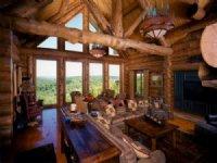 Custom Log Home On 60 Ac Sanctuary