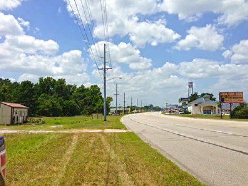 7.4 Acres Hwy 90 : Liberty County : Texas