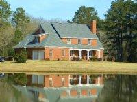 Country Estate Home On 12 Ac Lake : Hayneville : Houston County : Georgia