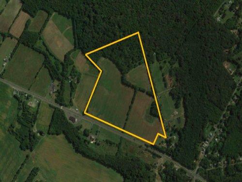 48+/- Acres Farmland On Route 70 : Southampton : Burlington County : New Jersey