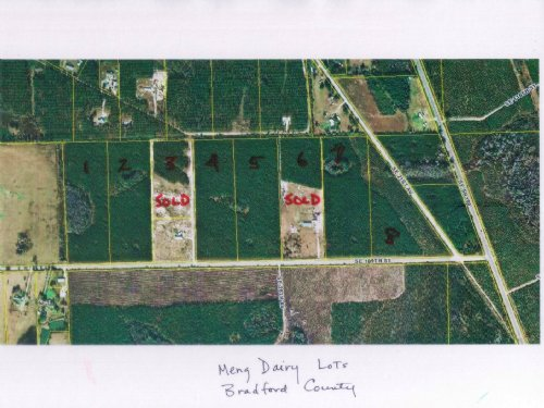 13.95 Acres-lot 7 Meng Dairy : Starke : Bradford County : Florida