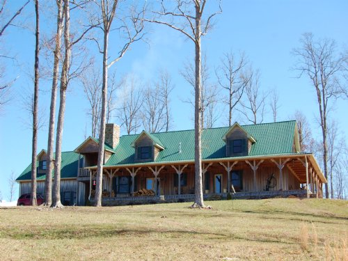 Custom Home On 50+ Acres : Huntland : Franklin County : Tennessee