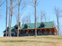 Custom Home On 50+ Acres : Huntland : Franklin County : Tennessee