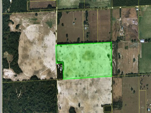 75.59 Acres Used As Cropland : Newberry : Alachua County : Florida