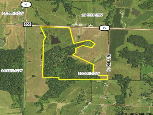 100 Acres; Hwy. K : Madison : Monroe County : Missouri