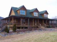 Log Home Located