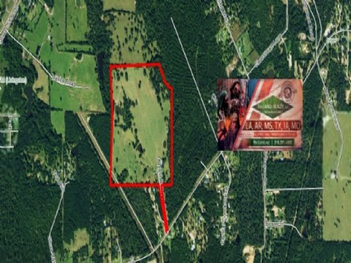 93.2 Ac - Working Ranch & Home : Livingston : Polk County : Texas