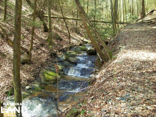 Secluded Mountain View Homesite : Ellijay : Gilmer County : Georgia