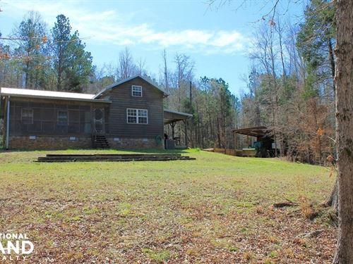 Bogue Creek Retreat : Sulligent : Lamar County : Alabama