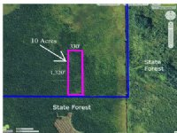10 Acres Bordering State Land