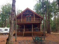Log Cabin On The Independence River