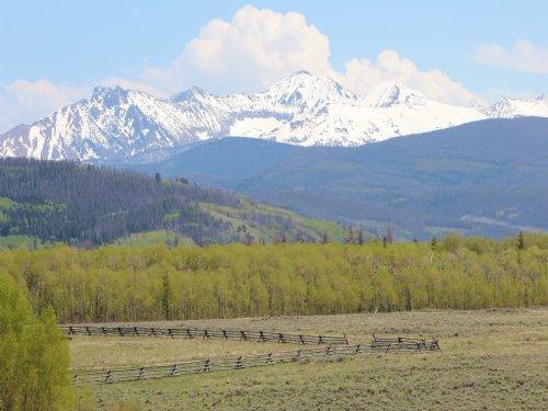 Moose View At Connor Creek Ranch : Walden : Jackson County : Colorado