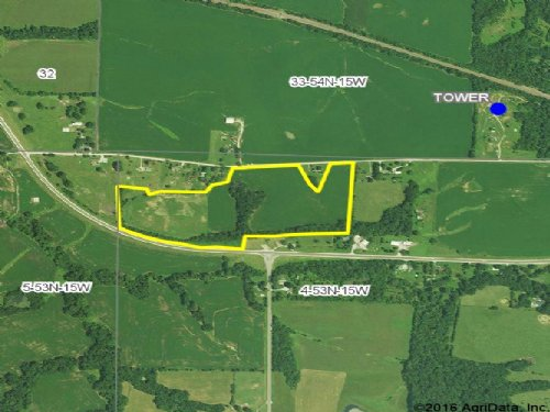 34 Acres - County Rd 1115 : Huntsville : Randolph County : Missouri