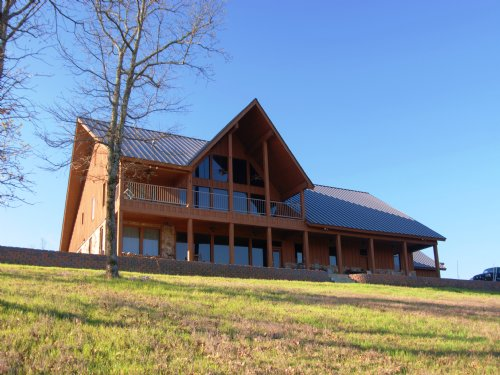 Large Custom Home On 150 Acres : Conway : Faulkner County : Arkansas