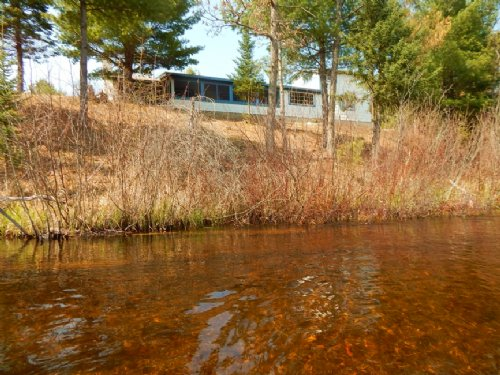 Great Fishing And Hunting Camp : Luzerne : Oscoda County : Michigan