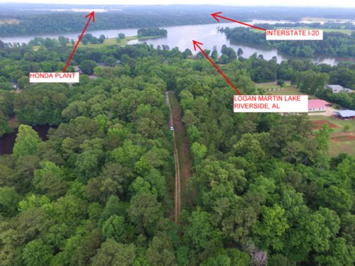 Private Estate Home Site - 18.9 Ac : Riverside : St. Clair County : Alabama
