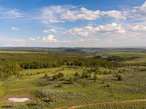 Muddy Mountain Corral Creek : Casper : Natrona County : Wyoming