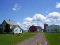 Country Farmette In Central Wiscons