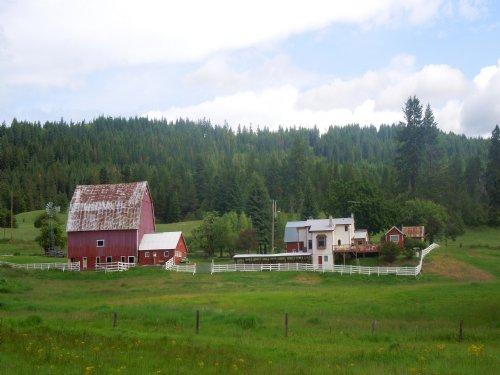 Spring Valley Ranch : Newport : Pend Oreille County : Washington