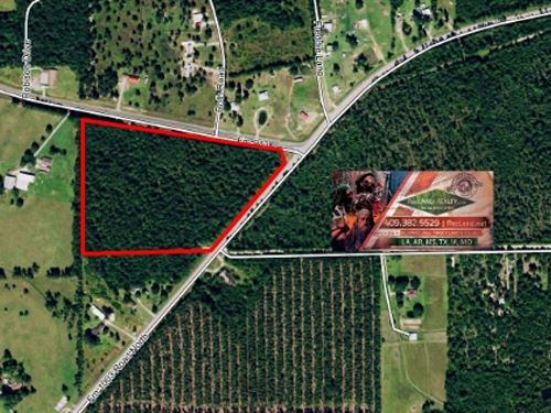 19.7 Ac - Timberland With Home Site : Kountze : Hardin County : Texas