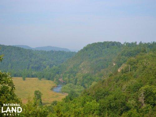 661 Acre Ozark Mountain Property : Saint Joe : Searcy County : Arkansas