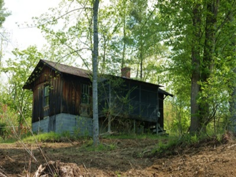 Secluded Rustic Cabin & Acreage : Farm for Sale : Fries : Grayson County :  Virginia