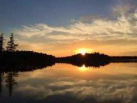 Breath Taking Sunsets Hancock Lake