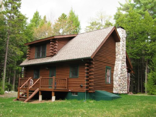 Camp Bailey Cabin On Duck Lake : Lakeville : Penobscot County : Maine