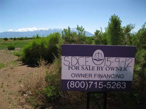 5.21 Acres Lot, Owner Financing : Alamosa : Colorado