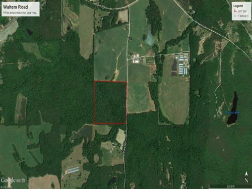 56 Ac Recreational Tract W/ Timber : Barnesville : Lamar County : Georgia