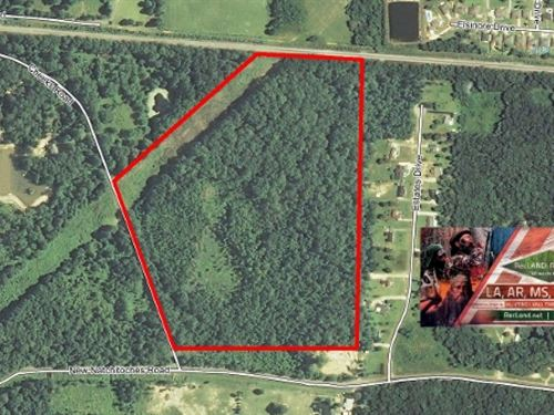 57 Ac Timberland In Cheniere Area : West Monroe : Ouachita Parish : Louisiana