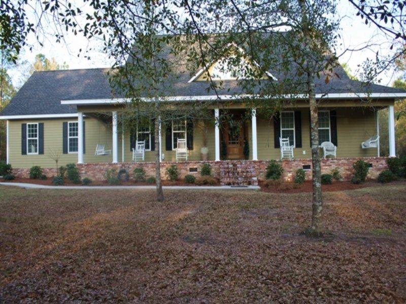 Home And 7 Acres : Swainsboro : Emanuel County : Georgia