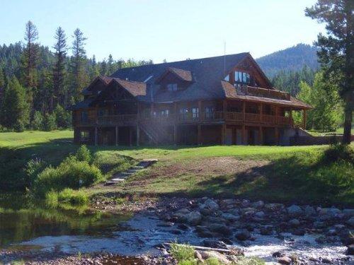 The Emily A Wildlife Lodge : Seeley Lake : Missoula County : Montana