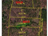 8 Acre Wooded Home Site
