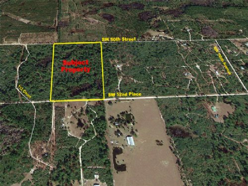 20 Acres Hunting Land : Cedar Key : Levy County : Florida
