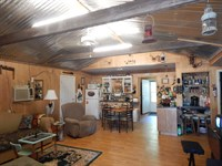 Secluded Cabin On 50 Wooded Acres : Tylertown : Walthall County : Mississippi