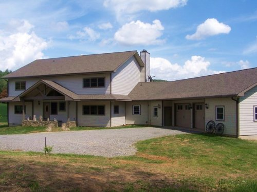 Custom-Built 3 Bed, 3 Bath Home : Troutdale : Grayson County : Virginia