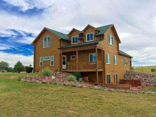 Ramah Log Home And Livestock : Ramah : Elbert County : Colorado