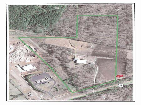 Cattle Feed Lot : Adairsville : Bartow County : Georgia