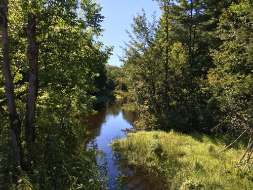 Family Camp Spot On The River : Williamstown : Oswego County : New York