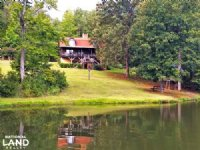 Log Home With Private Lake
